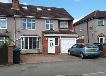 Thumbnail 5 bed semi-detached house to rent in 5, Bedroom Family Home, Beech Tree Avenue, Tile Hill, Coventry.