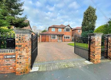 4 bed detached house for sale in Moss Lane, Sale M33