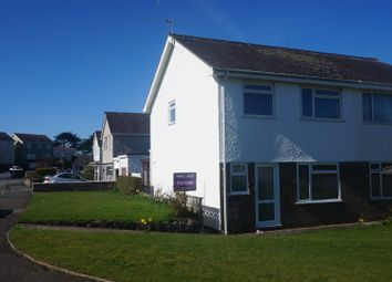 Thumbnail 3 bed semi-detached house for sale in Bro Cymerau, Pwllheli