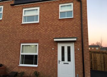 Thumbnail 3 bedroom semi-detached house to rent in Elm Walk, White Willow, Coventry