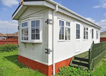 Thumbnail 1 bed mobile/park home for sale in The Broadway, Minster On Sea, Sheerness, Kent