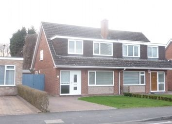 Thumbnail 3 bed semi-detached house to rent in Ullswater Avenue, Leamington Spa