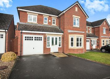 Thumbnail 4 bed detached house for sale in Canberra Way, Burbage, Hinckley
