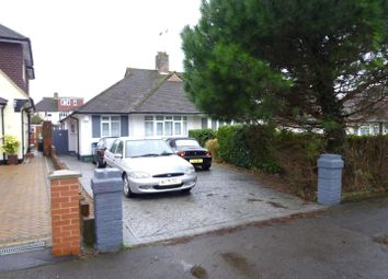 Thumbnail 3 bed semi-detached bungalow for sale in Cromwell Road, Worcester Park