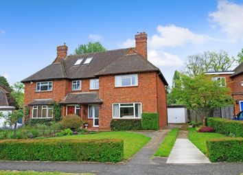 Thumbnail 3 bed semi-detached house for sale in Hullmead, Shamley Green, Guildford