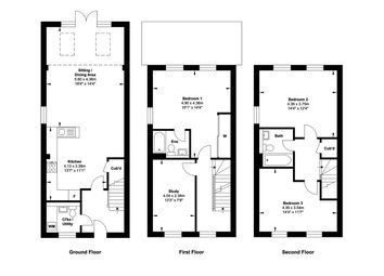 Thumbnail 3 bed semi-detached house for sale in George Elliston Road, Ipswich, Suffolk