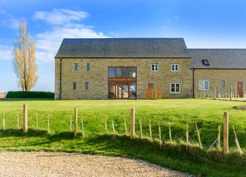 Thumbnail 5 bed barn conversion for sale in The Elms Farm, Wittering, Peterborough