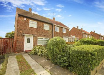 Thumbnail 2 bed semi-detached house for sale in Johnston Avenue, Hebburn