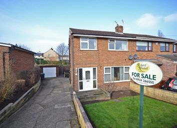 Thumbnail 3 bedroom semi-detached house for sale in Chapel Close, Dewsbury