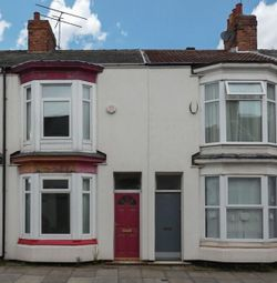 Thumbnail 2 bed terraced house to rent in Outram Street, Middlesbrough
