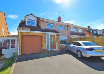 Thumbnail 4 bed semi-detached house for sale in Court Farm Road, Whitchurch, Bristol
