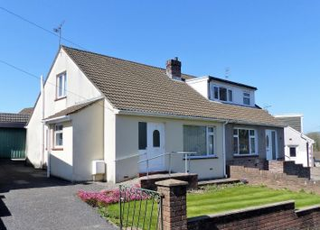 Thumbnail 2 bedroom semi-detached bungalow for sale in Graham Avenue, Penyfai, Bridgend, Mid Glamorgan.