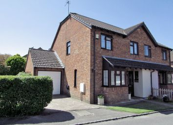 Thumbnail 4 bed semi-detached house for sale in Quarrington Close, Thatcham
