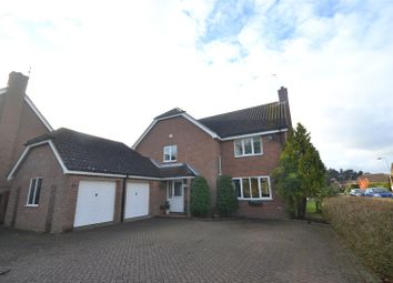 Thumbnail 4 bed detached house for sale in Drayton, Norwich