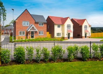 "Thumbnail 4 bedroom detached house for sale in ""Lincoln"" at Blackpool Road, Kirkham, Preston"