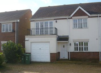 Thumbnail 4 bed semi-detached house to rent in Church Road, Ten Mile Bank, Downham Market