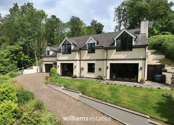 Thumbnail 4 bed detached house for sale in Cilcain Road, Pantymwyn, Mold