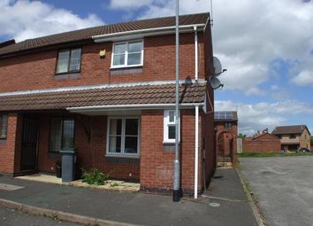 Thumbnail 2 bedroom town house to rent in Jade Court, Meir Hay, Stoke-On-Trent