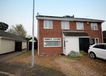 Thumbnail 4 bed semi-detached house for sale in Harrisons Drive, Sprowston, Norwich