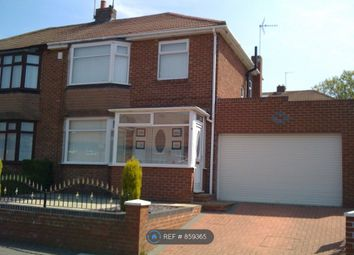 Thumbnail 3 bed semi-detached house to rent in St. Cuthberts Road, Newcastle Upon Tyne