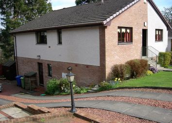 Thumbnail 5 bedroom detached house for sale in Helenslee Court, Dumbarton