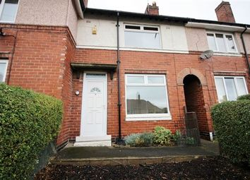 Thumbnail 2 bed terraced house for sale in Avisford Drive, Southey Green, Sheffield