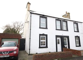 Thumbnail 3 bed semi-detached house for sale in 4 Esk Bank, Longtown, Carlisle, Cumbria