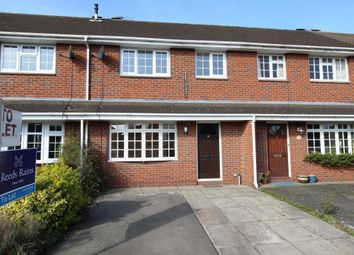 Thumbnail 2 bed terraced house to rent in Bessancourt, Holmes Chapel, Crewe