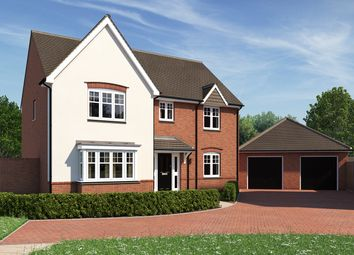 "Thumbnail 4 bed detached house for sale in ""The Cottingham"" at Moormead Road, Wroughton, Swindon"