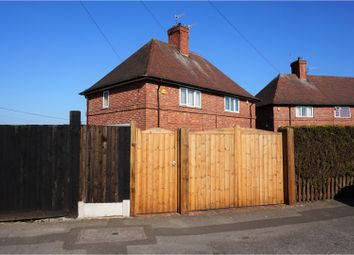 Thumbnail 2 bed semi-detached house for sale in Ravensworth Road, Nottingham