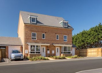 """Thumbnail 4 bedroom semi-detached house for sale in """"Woodvale"""" at Glynn Road, Peacehaven"""