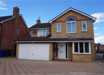 Thumbnail 4 bed detached house for sale in Thistledown Drive, Ixworth