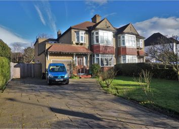 Thumbnail 4 bed semi-detached house for sale in Shirley Avenue, Croydon