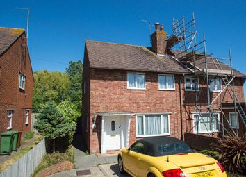 Thumbnail 2 bed semi-detached house for sale in Lindfield Road, Eastbourne