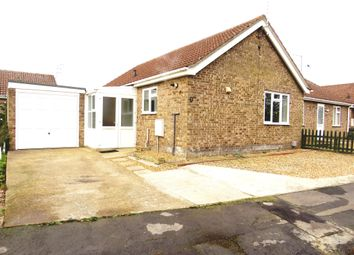 Thumbnail 2 bedroom semi-detached bungalow for sale in Meadow Way, Wimblington, March