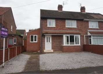 Thumbnail 3 bed semi-detached house for sale in Wold View, Brough