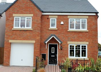 "Thumbnail 4 bed detached house for sale in ""The Belmont "" at Hesketh Lane, Tarleton, Preston"