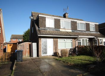 Thumbnail 3 bed semi-detached house for sale in Adwick Close, Mickleover, Derby