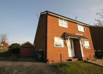 Thumbnail 1 bedroom semi-detached house to rent in Dunwoody Close, Mansfield, Nottinghamshire