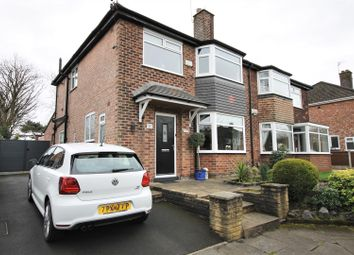 Thumbnail 3 bed semi-detached house for sale in Ravensdale Gardens, Ellesmere Park, Manchester