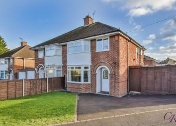 Thumbnail 3 bed semi-detached house for sale in Warden Hill Road, Leckhampton, Cheltenham