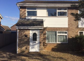 Thumbnail 3 bed semi-detached house to rent in Northfield Close, Gamlingay