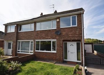 Thumbnail 3 bed semi-detached house to rent in The Close, Durkar, Wakefield