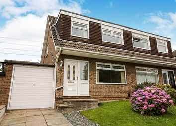 Thumbnail 3 bed semi-detached house to rent in Whimbrel Road, Offerton, Stockport