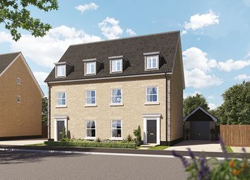 Thumbnail 4 bed detached house for sale in Off Norwich Road, Thetford