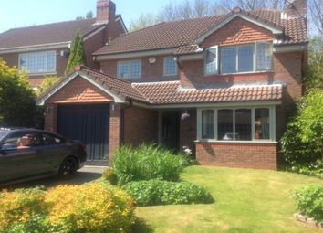 Thumbnail 4 bedroom property to rent in Waveney Drive, Wilmslow