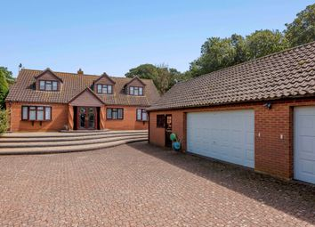Thumbnail 4 bed detached house for sale in Robin Hill, Heacham, King's Lynn