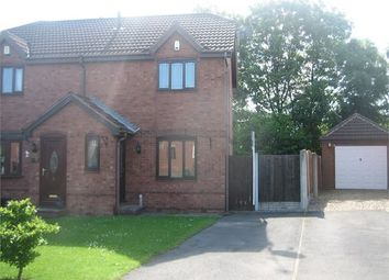 Thumbnail 2 bed semi-detached house to rent in Clearwell Croft, Cusworth, Doncaster