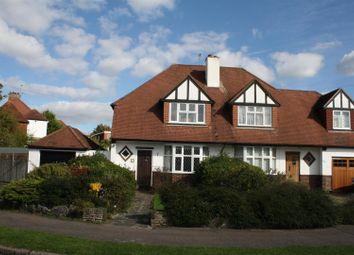 Thumbnail Semi-detached house for sale in Briarwood Road, Stoneleigh, Epsom