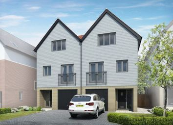 Thumbnail 3 bed semi-detached house for sale in Plot 23, Nautilus, Southampton Road, Portsmouth